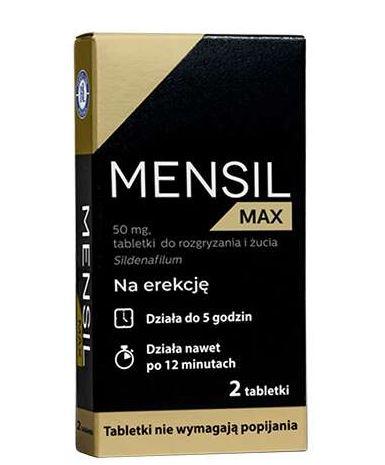 Nowość! Tabletki na potencję Mensil Max – skład, działanie, sposób użycia